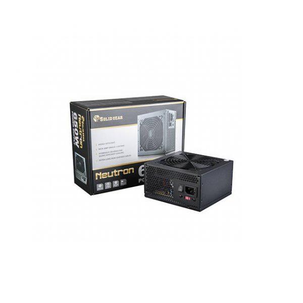 Solid Gear SDGR-650E 650W PS2 ATX12V v2.3 & EPS12V v2.91 Power Supply (Black)