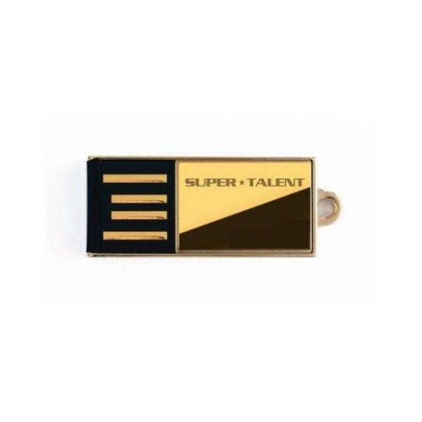Super Talent Pico-C 16GB Gold Limited Edition USB 2.0 Flash Drive