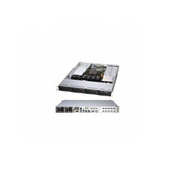 Supermicro A+ Server AS -1014S-WTRT Socket SP3 Single AMD 500W 1U Rackmount Server Barebone System (Black)