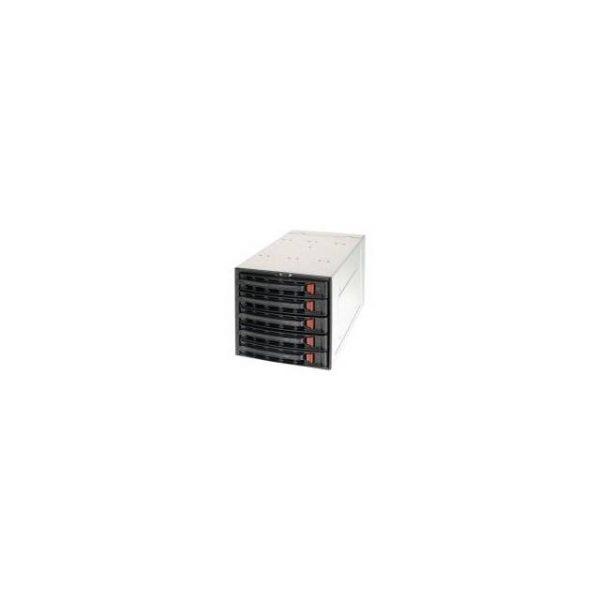 Supermicro CSE-M35TQB SAS/SATA Mobile Rack (Black)