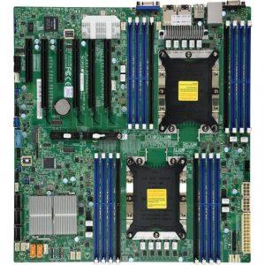 Supermicro MBD-X11DPI-NT-O Dual LGA3647/ Intel C622/ DDR4/ SATA3&USB3.0/ V&2bE/ EATX Server Motherboard