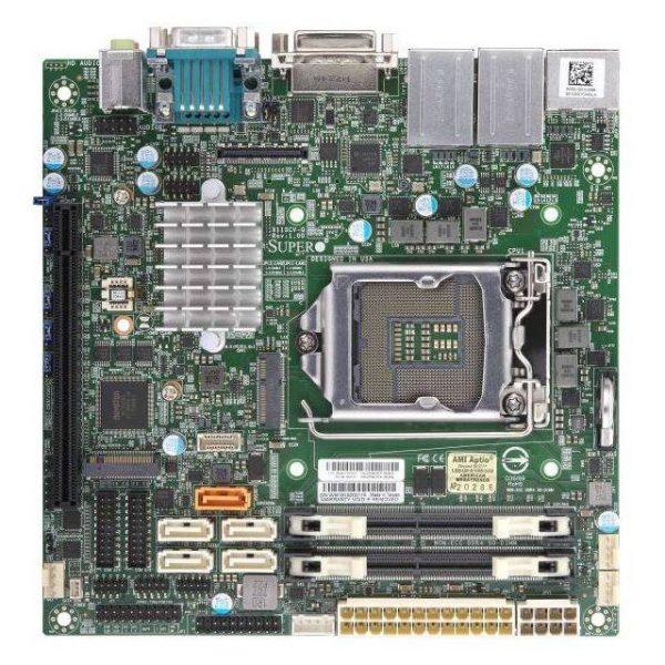 Supermicro MBD-X11SCV-Q-O LGA1151/ Intel Q370/ DDR4/ USB3.1/ A&2GbE/ Mini-ITX Motherboard