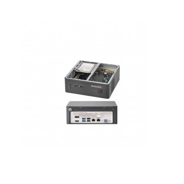 Supermicro SuperChassis CSE-101I No Power Supply Mini-ITX Server Chassis (Black)