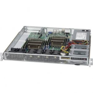 Supermicro SuperChassis CSE-514-505 500W 1U Rackmount Server Chassis (No Paint)