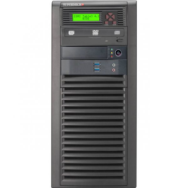 Supermicro SuperChassis CSE-732D3-903B 900W Mid-Tower Server Chassis (Black)