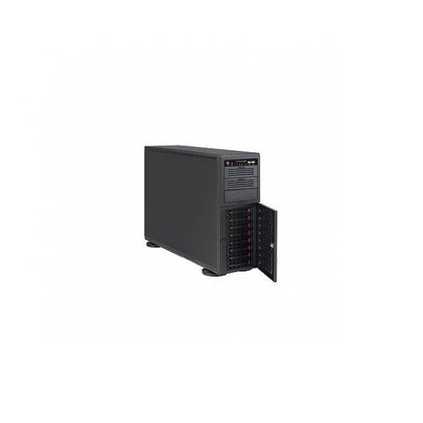 Supermicro SuperChassis CSE-743AC-1200B-SQ 1000/1200W 4U Rackmount Server Chassis (Black)