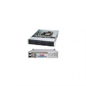 Supermicro SuperChassis CSE-825TQC-R1K03LPB 800W/ 1000W 2U Rackmount Server Chassis (Black)