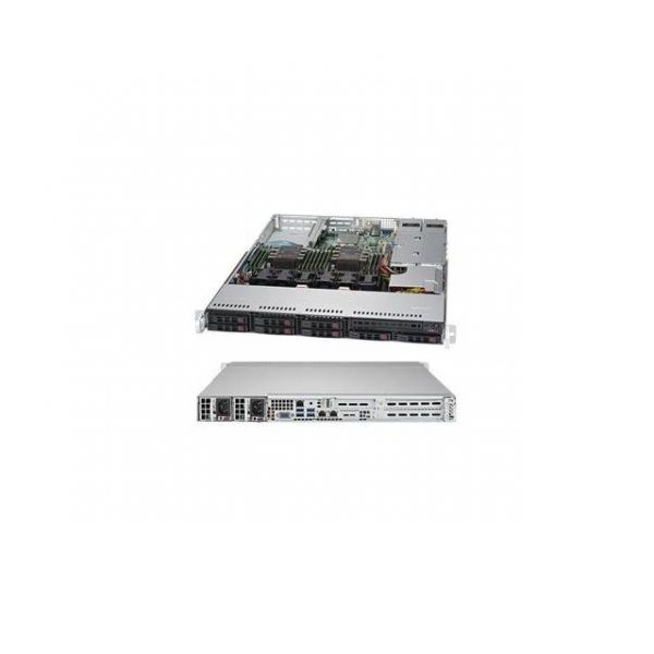 Supermicro SuperServer SYS-1029P-WTR Dual LGA3647 700W/ 750W 1U Rackmount Server Barebone System (Black)