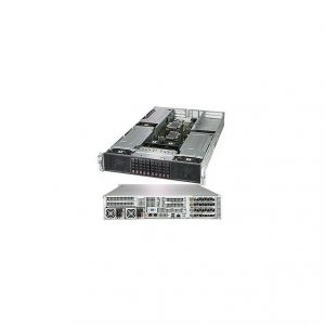 Supermicro SuperServer SYS-2029GP-TR Dual LGA3647 2000W 2U Rackmount Server Barebone System (Black)