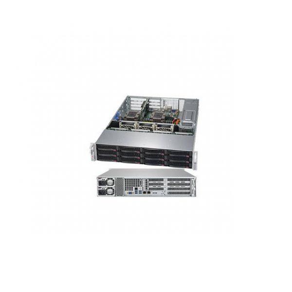 Supermicro SuperServer SYS-6029P-WTRT Dual LGA3647 1200W 2U Rackmount Server Barebone System (Black)