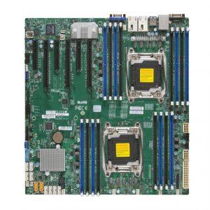 Supermicro X10DRI-O Dual LGA2011/ Intel C612/ DDR4/ SATA3&USB3.0/ V&2GbE/ EATX Server Motherboard