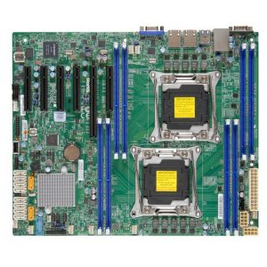 Supermicro X10DRL-I-B Dual LGA2011/ Intel C612/ DDR4/ SATA3&USB3.0/ V&2GbE/ ATX Server Motherboard
