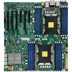Supermicro X11DAI-N-O Dual LGA3647/ Intel C621/ DDR4/ SATA3&USB3.0/ V&2GbE/ E-ATX Server Motherboard
