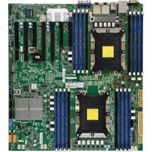 Supermicro X11DPH-T-O Dual LGA3647/ Intel C624/ DDR4/ SATA3&USB3.0/ V&2GbE/ EATX Server Motherboard