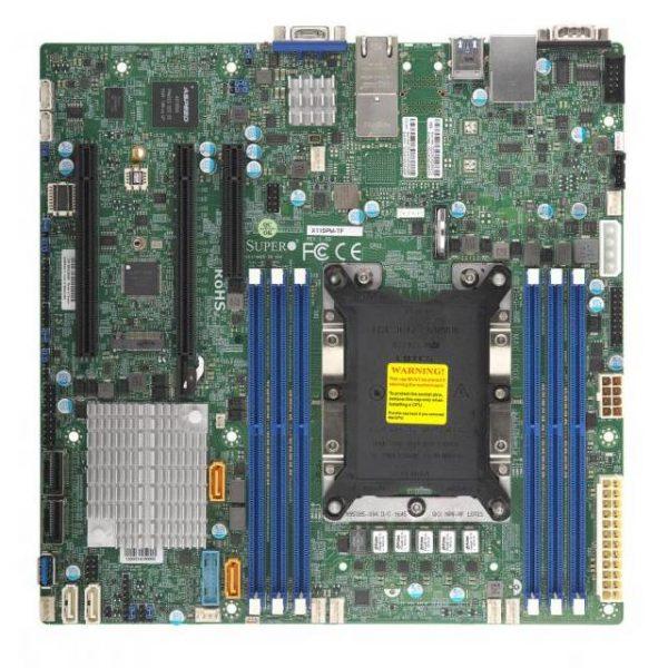 Supermicro X11SPM-TF-O LGA3647/ Intel C622/ DDR4/ SATA3&USB3.0/ V&2GbE/ MicroATX Server Motherboard