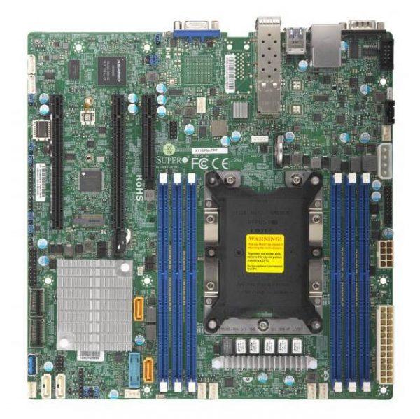 Supermicro X11SPM-TPF-B LGA3647/ Intel C622/ DDR4/ SATA3&USB3.0/ V&2GbE/ MicroATX Server Motherboard