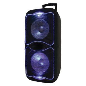 Supersonic IQ-4522DJBT Portable Bluetooth Speaker with True Wireless Technology