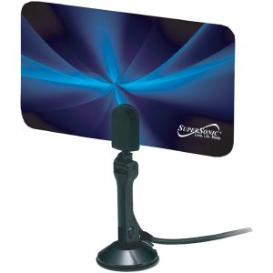 Supersonic SC-607 HDTV Flat Digital Indoor Antenna