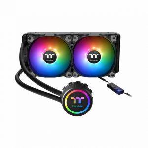 Thermaltake CL-W233-PL12SW-B Water 3.0 240 ARGB AIO Liquid Cooler