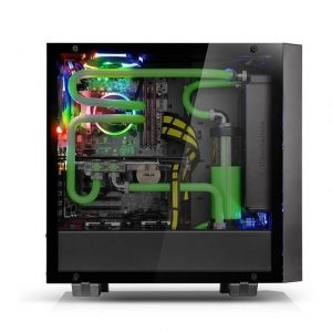 Thermaltake Core G21 Tempered Glass Edition CA-1I4-00M1WN-00 No Power Supply ATX Mid Tower (Black)