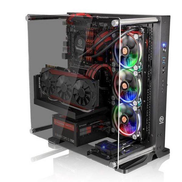 Thermaltake Core P3 TG CA-1G4-00M1WN-06 No Power Supply ATX Mid Tower (Black)