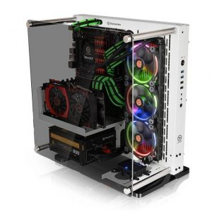 Thermaltake Core P3 Tempered Glass Snow Edition CA-1G4-00M6WN-05 No Power Supply ATX Mid Tower (White)