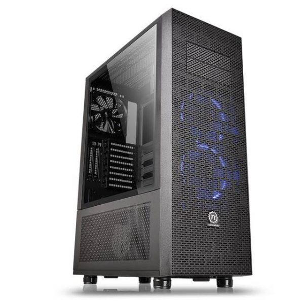 Thermaltake Core X71 Tempered Glass Edition CA-1F8-00M1WN-02 No Power Supply ATX Full Tower (Black)