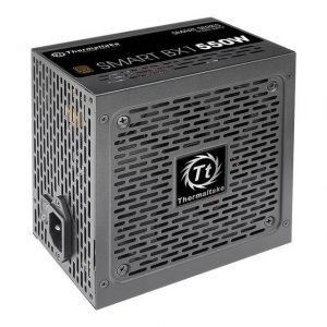 Thermaltake PS-SPD-0550NNFABU-1 80 PLUS Bronze certified non-modular PSU with Hydraulic Bearing fan.