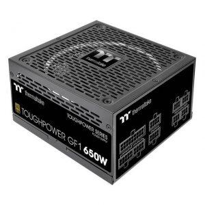 Thermaltake PS-TPD-0650FNFAGU-1 Toughpower GF1/0650W/Fully Modular/Non Light/Full Range/Analog/80 Plus Gold/US/100% JP CAP/All Flat Cables