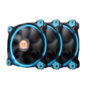 Thermaltake Riing 120mm Blue LED Case Fan (3 fan pack)