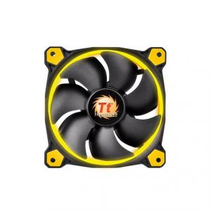 Thermaltake Riing 120mm Yellow LED Case Fan