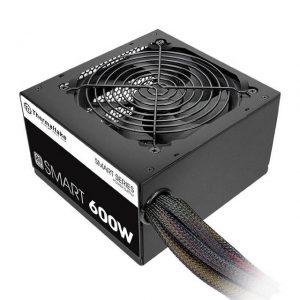Thermaltake Smart 600W 80 PLUS ATX12V 2.3 Power Supply (Black)
