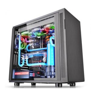 Thermaltake Suppressor F31 Tempered Glass Edition CA-1E3-00M1WN-03 No Power Supply ATX Mid Tower (Black)