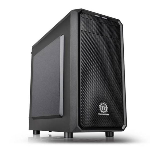 Thermaltake Versa H15 CA-1D4-00S1NN-00 No Power Supply MicroATX Case (Black)