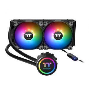 Thermaltake Water 3.0 240 ARGB Sync 240mm All In One CPU Liquid Cooler for Intel LGA 2066/20113/2011/1366/1156/1155/1151/1150 & AMD Socket FM2/FM1/AM4/AM3+/AM3/AM2+/AM2