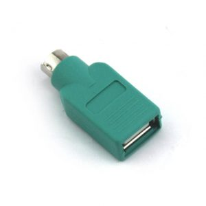 VCOM CA451 USB 2.0 Female to PS2 Male Adapter (Green)