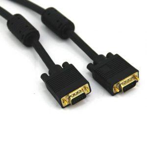 VCOM CG381D-G-10 10ft VGA Male to VGA Male Cable (Black)