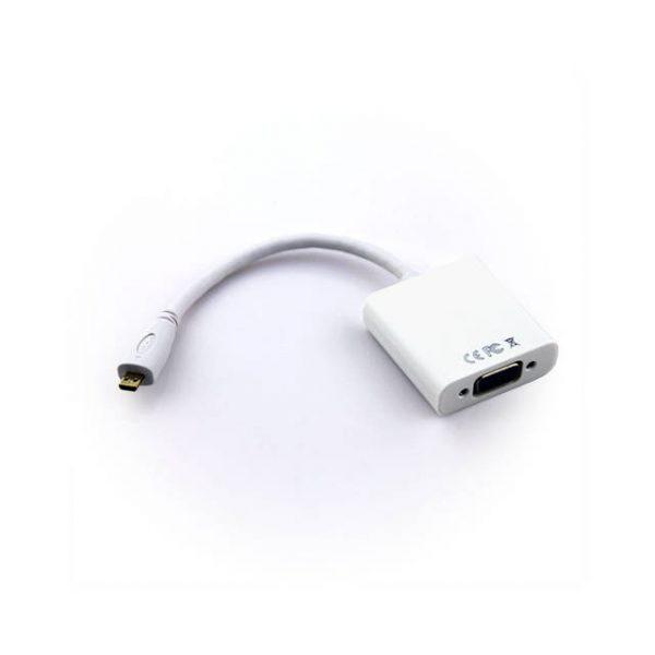 VCOM CG594 Micro HDMI Male to VGA Female Adapter