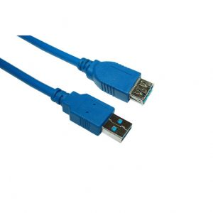 VCOM CU302-6FEET 6ft USB 3.0 Type A Male to Type A Female Extension Cable
