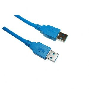 VCOM CU303-6FEET 6ft USB 3.0 Type A Male to Type A Male Cable