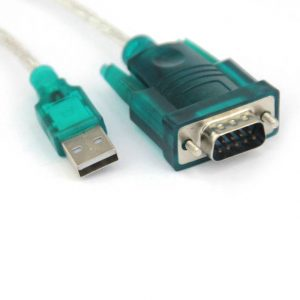 VCOM CU804 USB 2.0 Type A Male to RS232 DB-9 Serial Male Adapter