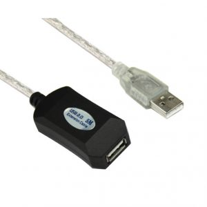 VCOM CU823-5METER 16ft USB 2.0 Type A Male to Type A Female Active Repeater Cable