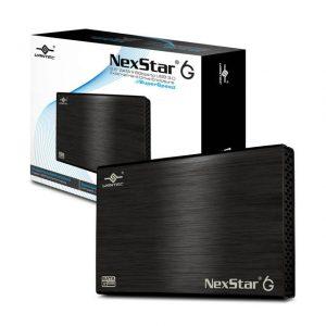 Vantec NexStar 6G NST-266S3-BK 2.5 inch SATA3 to USB 3.0 External Hard Drive Enclosure (Black)
