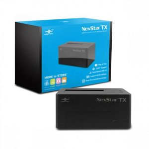 Vantec NexStar TX NST-D328S3-BK Single Bay 2.5/3.5 inch SATA 6Gb/s to USB 3.0 Hard Drive Dock