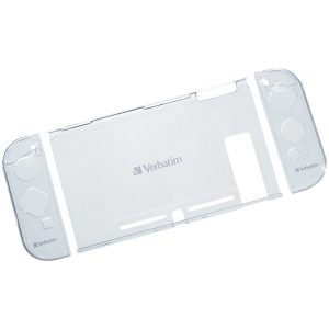 Verbatim 70220 Crystal Case with Screen Protection Film for Nintendo Switch