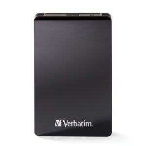 Verbatim 70382 Vx460 USB 3.1 External SSD (256 GB)