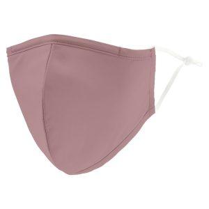 Weddingstar 5510-36 Adult Reusable/Washable Cloth Face Mask with Filter Pocket (Mauve)