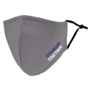 Weddingstar 5532-77 Adult Reusable/Washable Cloth Face Mask with Filter Pocket (USA Stronger Together)