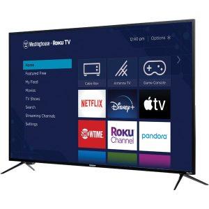 Westinghouse WR50UX4019 50-Inch-Class UX Series 4K Ultra HD Smart Roku TV