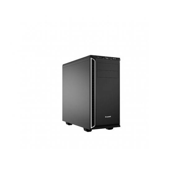 be quiet! Pure Base 600 No Power Supply ATX Mid Tower (Silver)